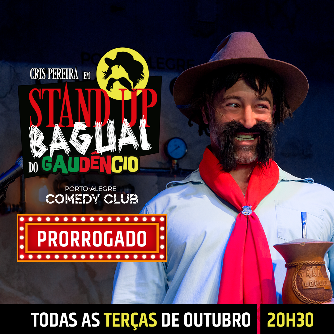 Stand Up Bagual do Gaudêncio